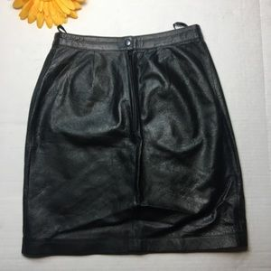 Wilsons Leather Skirts - Wilson's 100% Leather Skirt